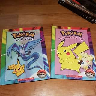 Scholastic Pokemon Hardcover storybooks for early readers