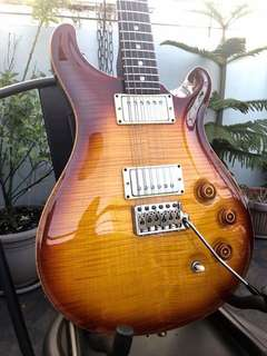 "PRS DGT ""David Grissom Trem"" 2008 Model. Tobacco Burst"