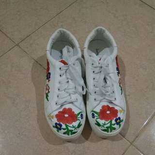 Flower shoes # sneakers
