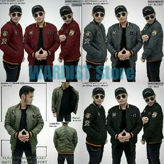Jaket Bomber Scoot
