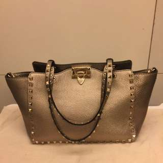 Valentino handbag with studs