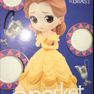 Beauty and the beast Q posket disney character-belle-