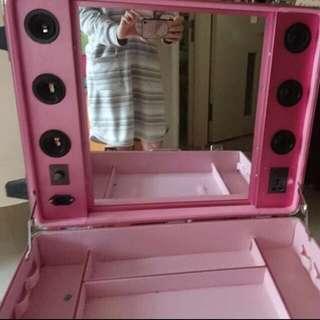 專業化妝教學行李箱