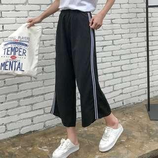 side stripe pant (two white stripe)