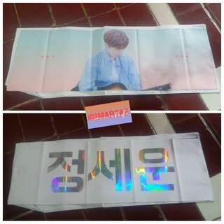 Jeong sewoon slogan fansite