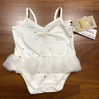 BNWT Cotton On Ballet Leotard / baby girl romper