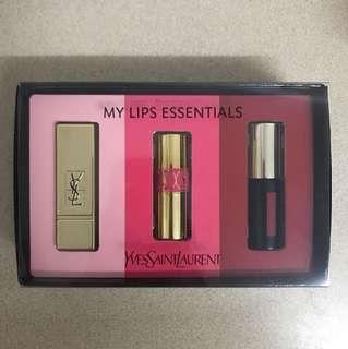 YSL lipstick set