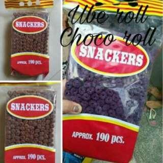 Choco roll & ube roll