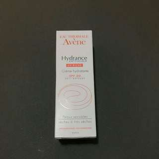 Avene Hydrance optimale UV RICHE Creme hydratante SPF 20 Anti Oxydant