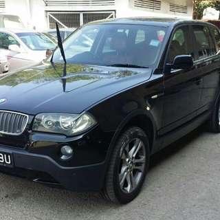 BMW X3 AUTO 2008