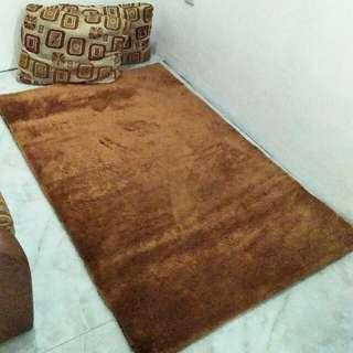 Karpet Bulu halus 1x1,5m