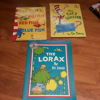 Dr Seuss books for early readers