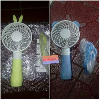Kipas kelinci fan portable kuning