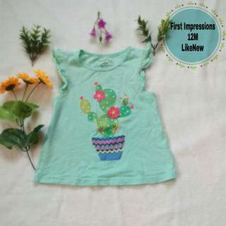 Cute top for baby girl