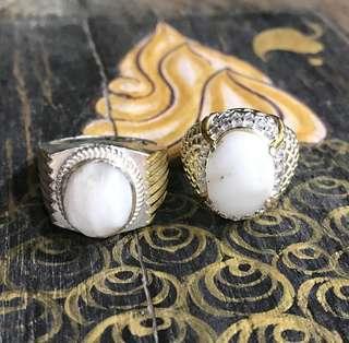 Coconut / Kelapa Pearl Ring