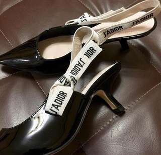 DIOR sling back shoes