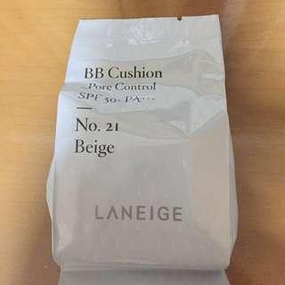 Laneige BB Cushion Pore Control Refill No 21