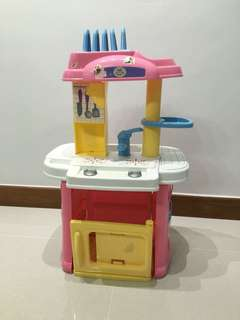 Kitchen cooking playset for kid