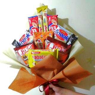 Buket Snack (Kado Sidang, Wisuda)