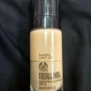 THE BODY SHOP fresh nude foundation