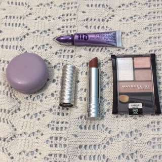 Makeup clear out- urban decay, clinique etc