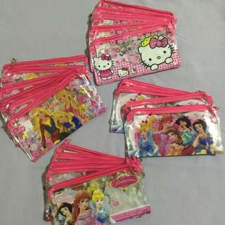 Character Pouch/ Pencil Case with Chain