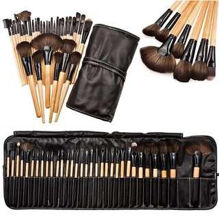 ✨🌸 32 PCS Makeup Brush Set with Brush Bag