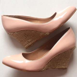 Zalora Pink Wedges