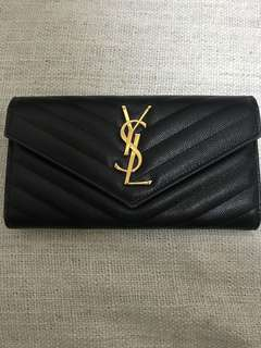 YSL long wallet original price over 5K