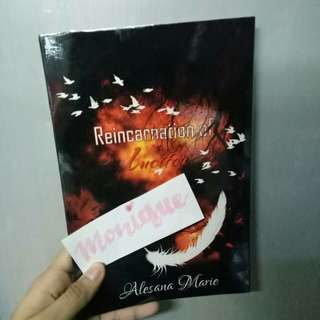 Reincarnation of Lucifer WATTPAD SELF PUB BOOK