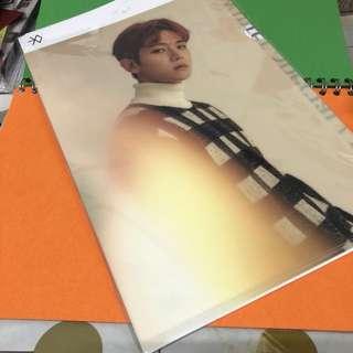 EXO 伯賢 baekhyun folder $60包郵