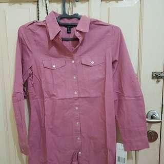 Dusty Pink Kemeja