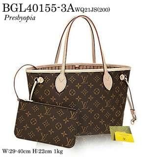 Louis Vuitton 2in1 Small Handbag & Clutch Bag