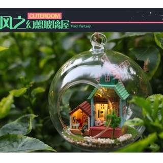 玻璃球小屋DIY風之幻想