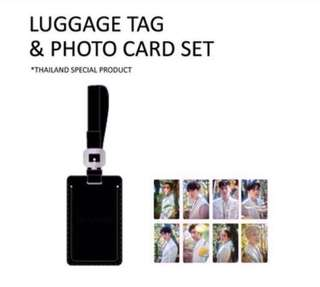 [PREORDER] EXO ELYXION LUGGAGE TAG PHOTOCARD