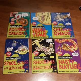 The Scholastic Horrible Science books