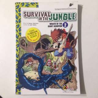 Survival in the Jungle : Wrath of the giant scorpion