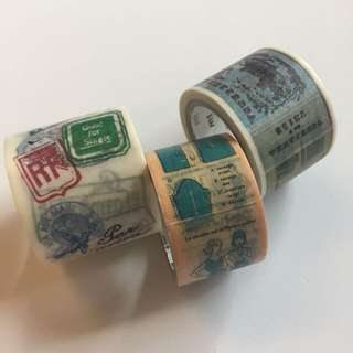 mt 紙膠帶 二手 卷 masking tape 手帳