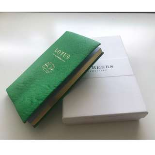 【De Beers Jewellery x Smythson】Panama Pocket Notebook 記事簿