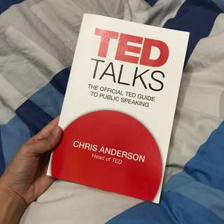 TED TALKS - the official TED guide to public speaking - Chris Anderson