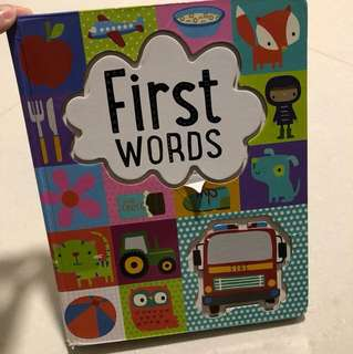 First Words Board Book