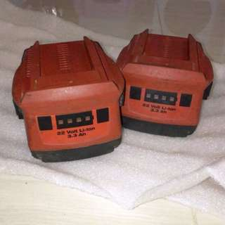 Hilti二手電池(1pcs)