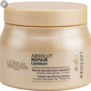 Authentic L'Oreal Hair Treatment Absolute