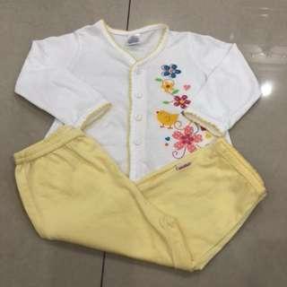 Pigeon Baby Pyjamas (0-4 mths)