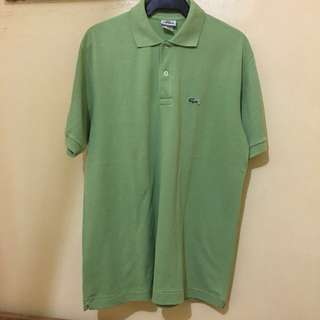 Auth Lacoste Polo Shirt