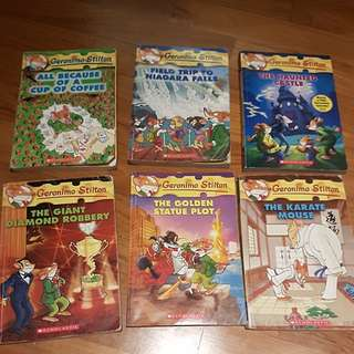 Scholastic Geronimo Stilton books