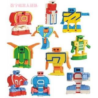 Alphabet Robot Toy Assortment - Educational  A - Z