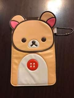 可愛Rilakkuma手機袋💕