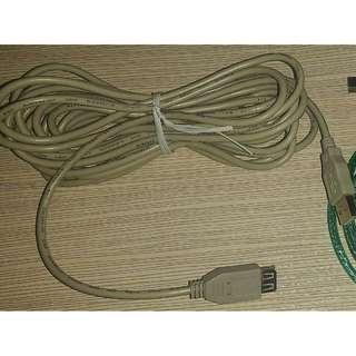 USB 擴充頭-USB 延長線