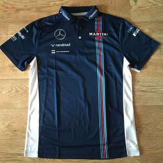 [ready-stock] Hackett Williams Martini Racing jersey